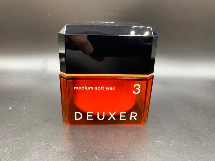 DEUXER(デューサー)ミディアムスムースワックス 3Sを使ったMISATOさんのクチコミ画像1