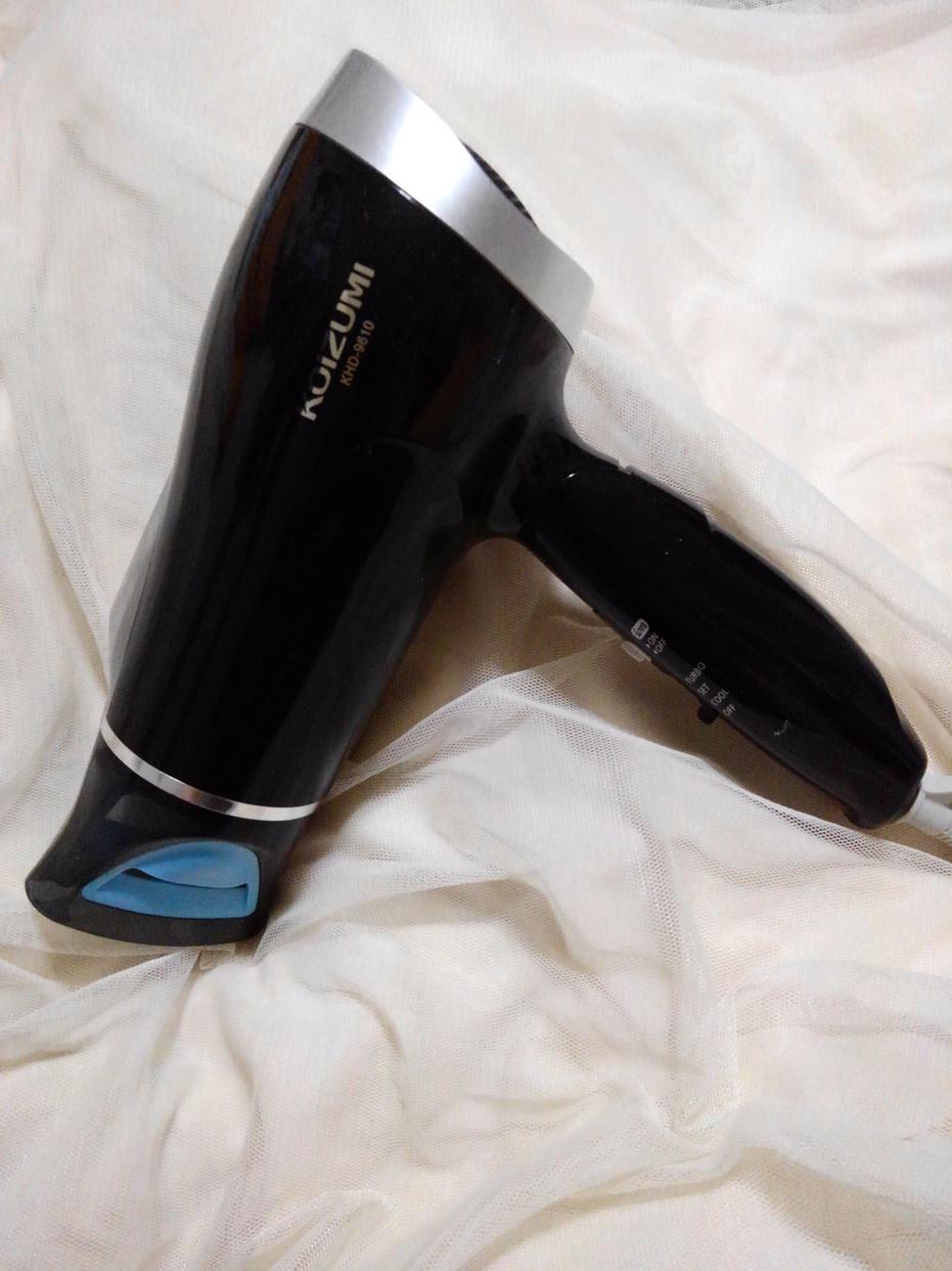 KOIZUMI(コイズミ)マイナスイオンヘアドライヤー KHD-9610を使ったバドママ★さんのクチコミ画像1