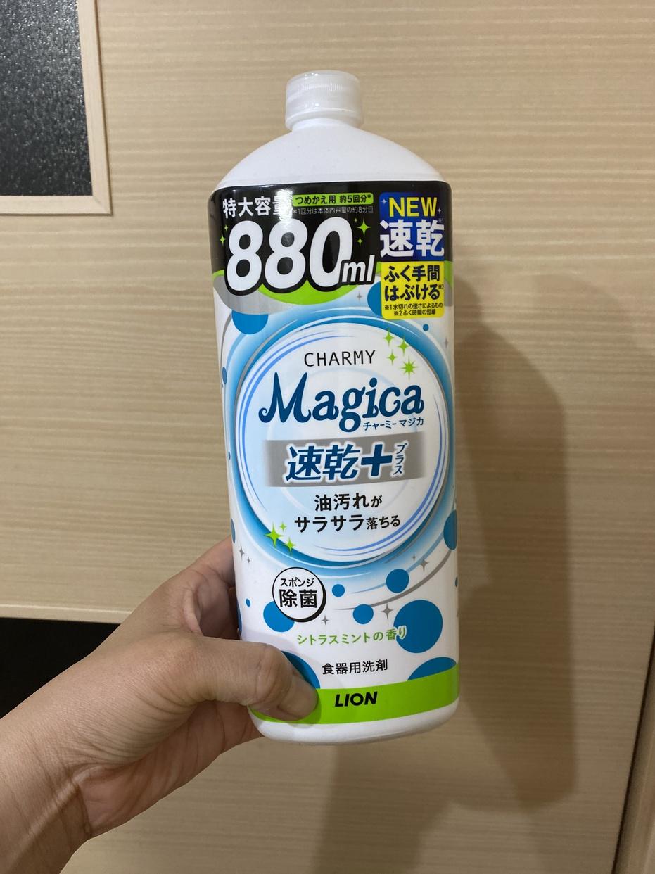 CHARMY(チャーミー)Magica 速乾+カラっと除菌 詰め替え用を使ったいぬのしっぽさんのクチコミ画像1