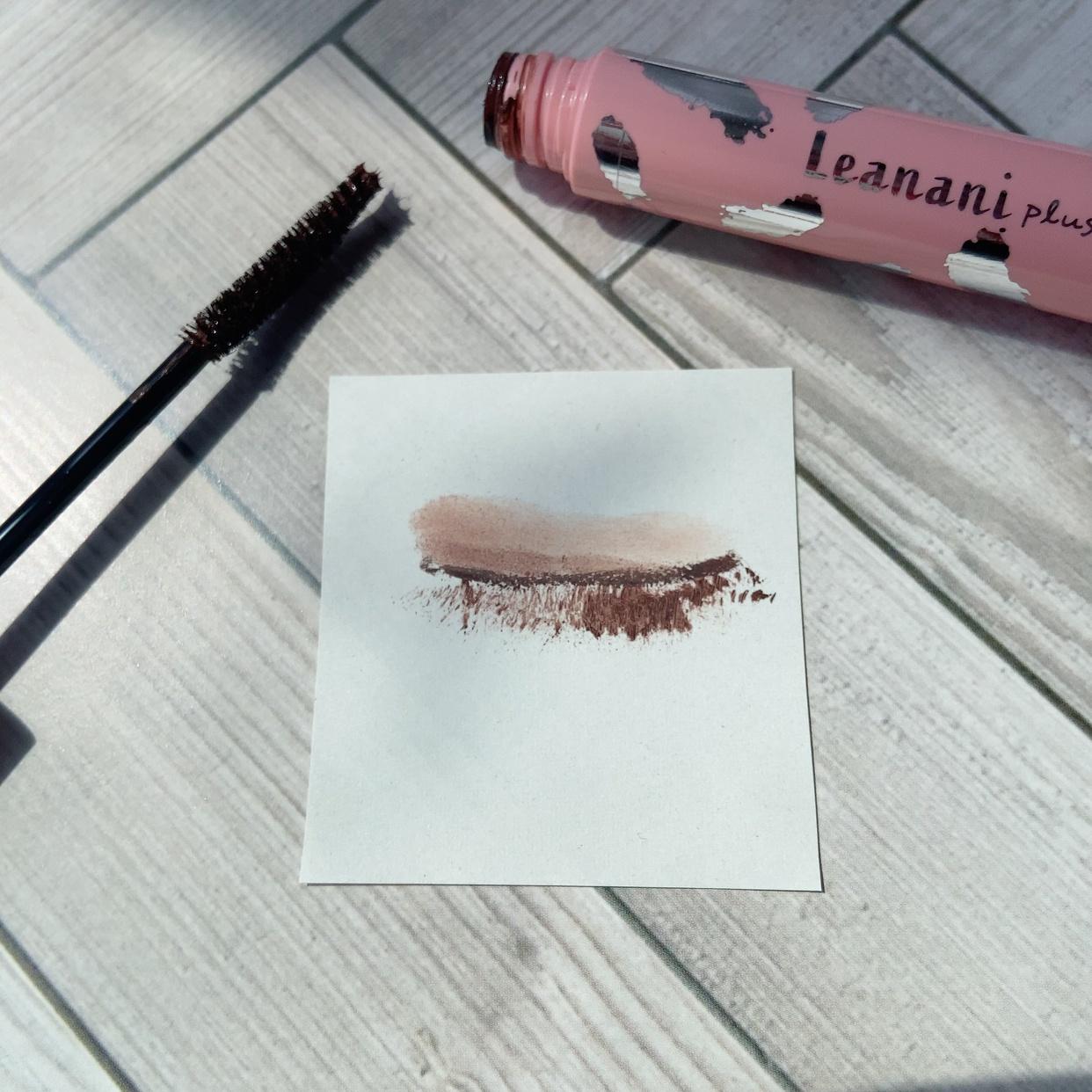 Leanani plus(レアナニ プラス) エクストラカール ロングマスカラを使った_ariel_mamaさんのクチコミ画像2