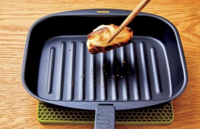 NITORI(ニトリ)魚焼き対応スチールグリルプレートを使ったみきぽんさんのクチコミ画像2