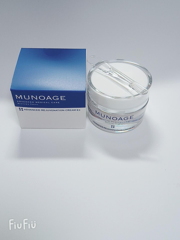 MUNOAGE(ミューノアージュ)アドバンストリジュビネーションクリームExを使ったKEIKOさんのクチコミ画像2