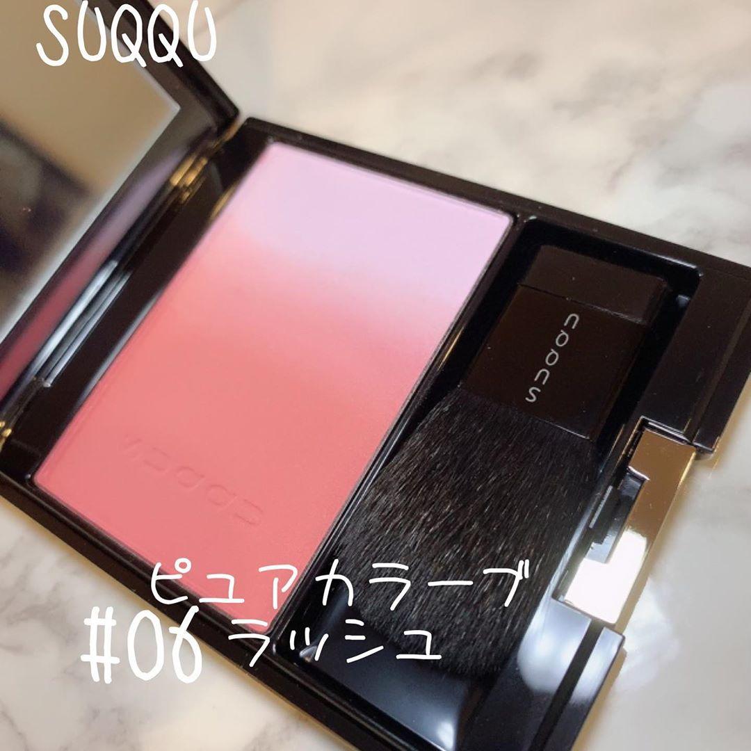 SUQQU(スック)ピュア カラー ブラッシュを使った chamaru222さんのクチコミ画像
