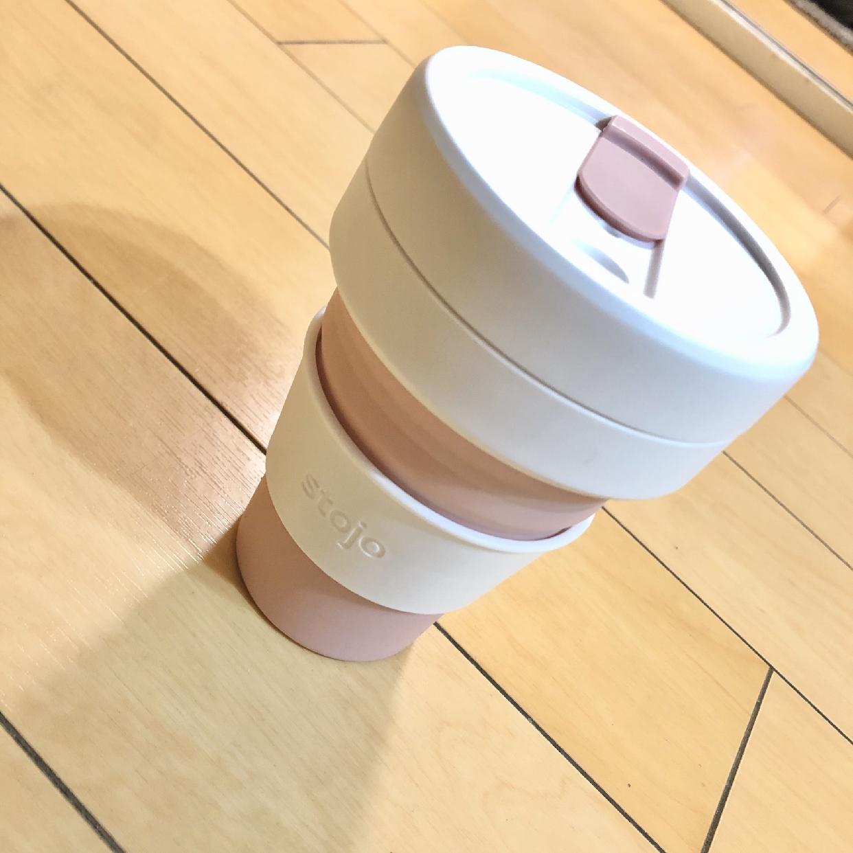 stojo(ストージョ)POCKET CUP 355mlを使ったasmiさんのクチコミ画像1
