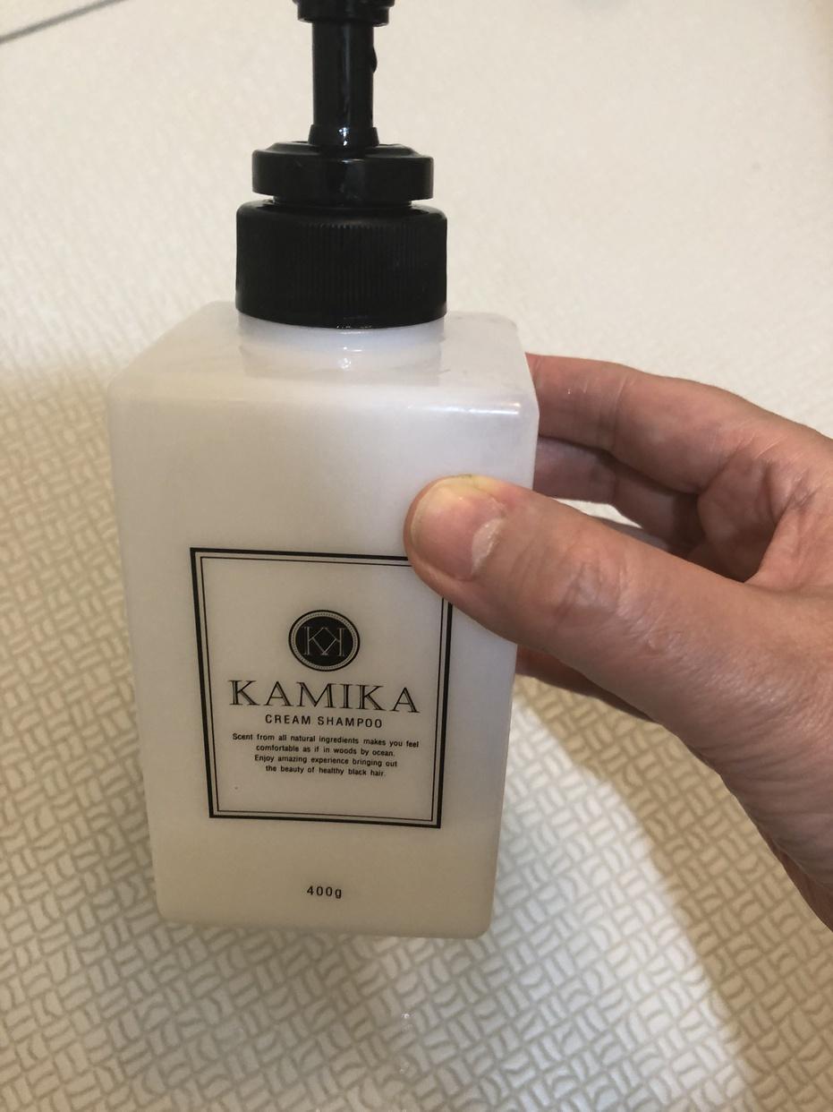 KAMIKA(カミカ) オールインワン黒髪クリームシャンプーを使ったpitti_さんのクチコミ画像2
