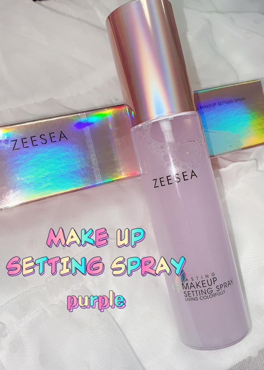 ZEESEA(ズーシー) メタバースピンクシリーズ ローリンスターメイクキープスプレーを使った珈琲豆♡さんのクチコミ画像