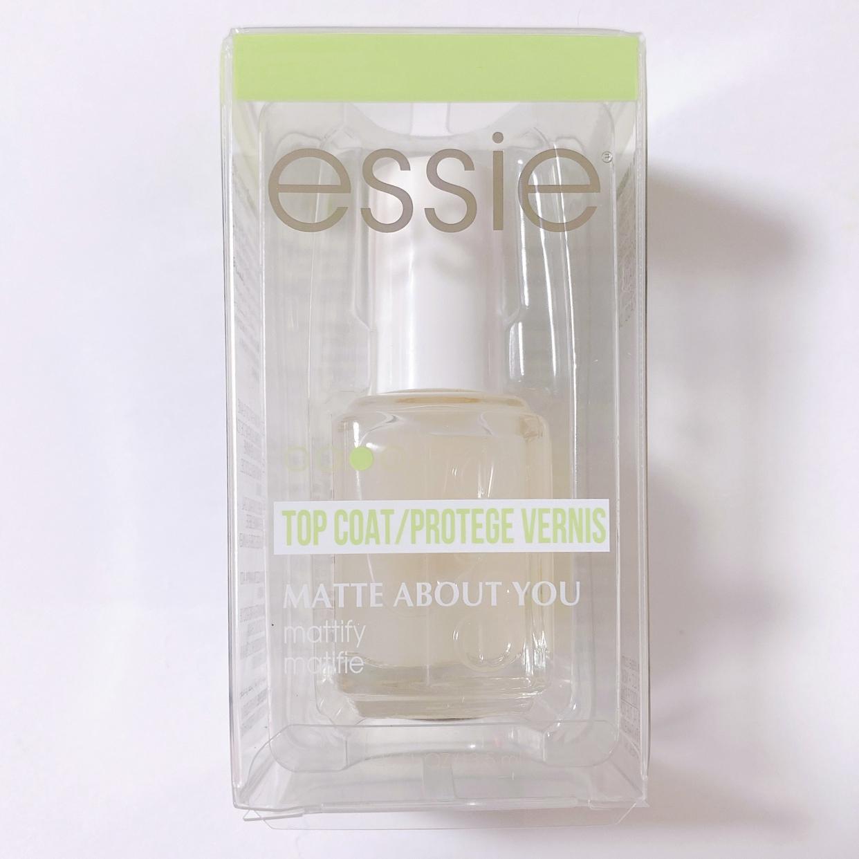 Essie(エッシー)マット アバウト ユーを使ったMiiさんのクチコミ画像1