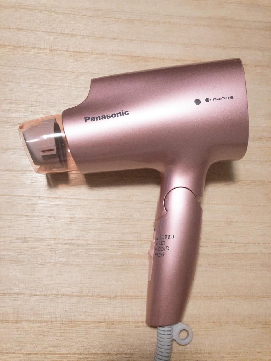 Panasonic(パナソニック)ヘアードライヤー ナノケア EH-CNA2Eを使ったasahiさんのクチコミ画像1