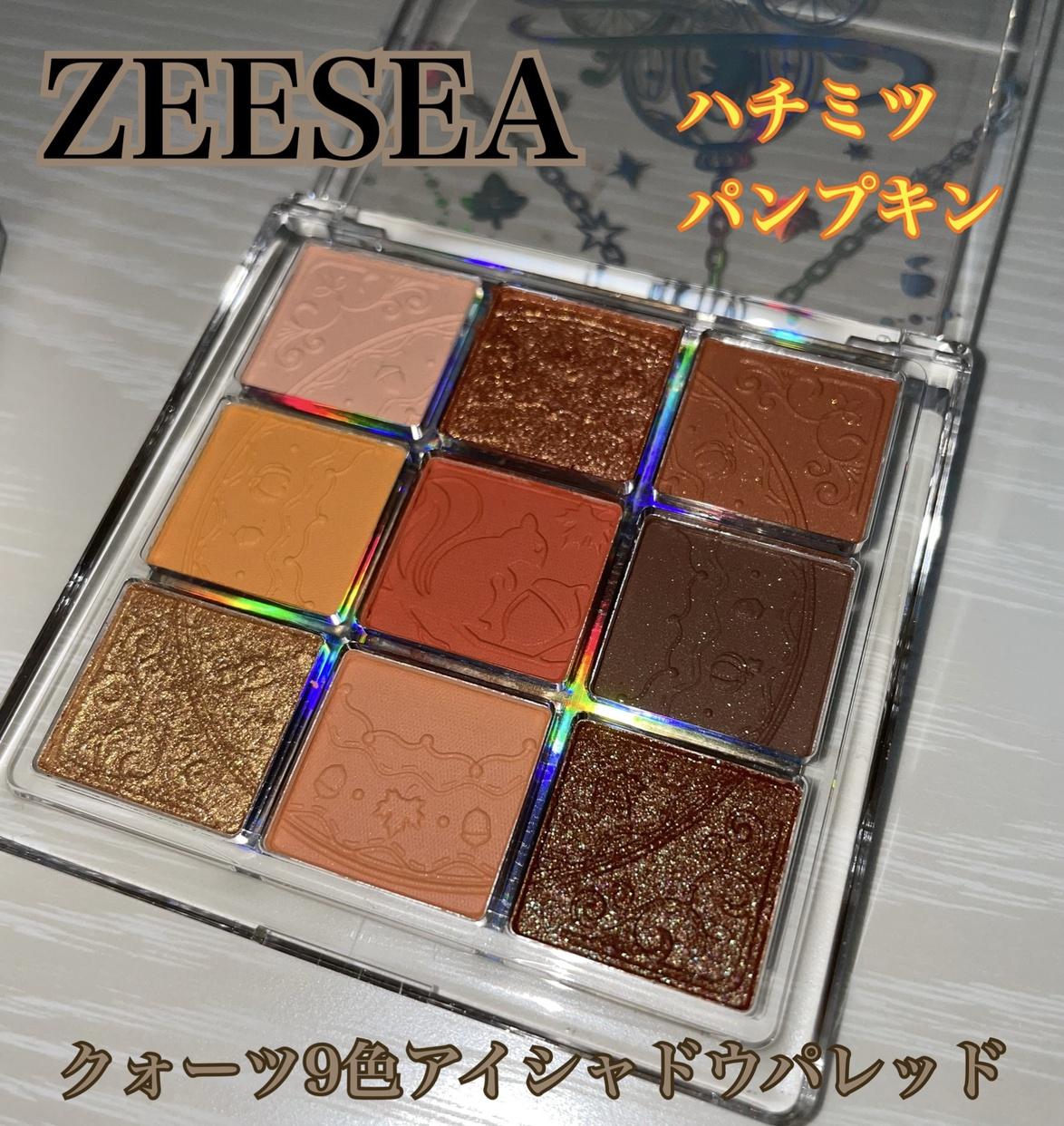 ZEESEA(ズーシー) クォーツ 9色アイシャドウパレットを使ったRENA🤍🤍さんのクチコミ画像1