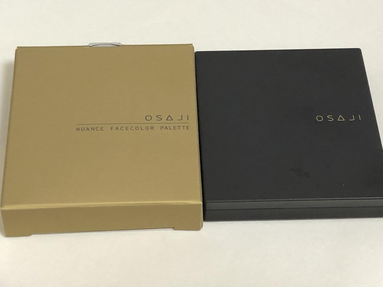 OSAJI(オサジ)ニュアンスフェイスカラーパレット ホリデーコレクションを使ったchiaさんのクチコミ画像