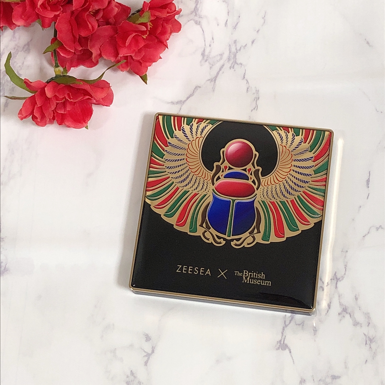 ZEESEA(ズーシー) 大英博物館 16色スクエアアイシャドウパレットを使ったRiso(リーソ)さんのクチコミ画像