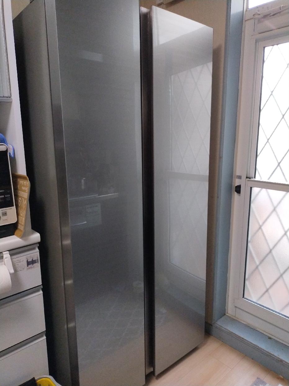 AQUA(アクア)冷蔵庫 AQR-SBS45Hを使った JUNさんの口コミ画像1