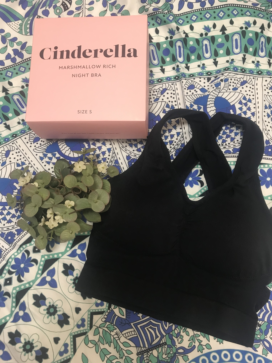 CINDERELLA(シンデレラ) マシュマロリッチナイトブラを使ったy.m.onさんのクチコミ画像