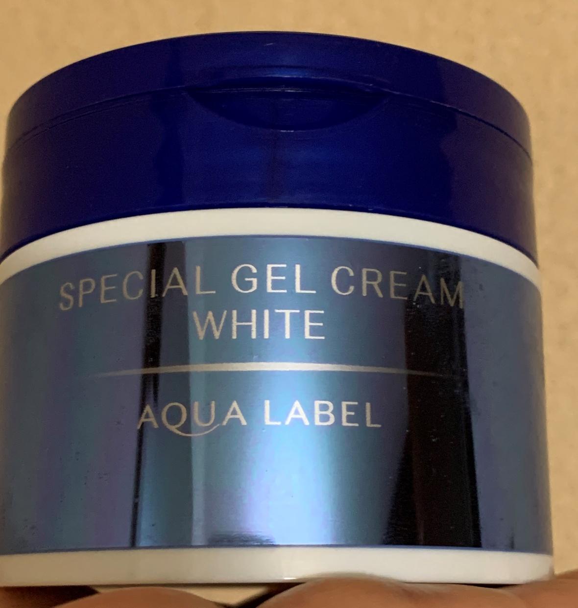 AQUALABEL(アクアレーベル) スペシャルジェルクリームA (ホワイト)を使ったshizukuさんのクチコミ画像