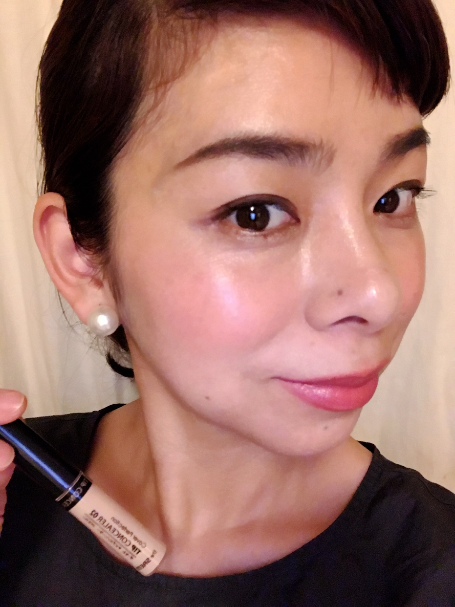 the SAEM(ザ セム)カバーパーフェクション チップコンシーラーを使った             Seiko Hokiさんのクチコミ画像1