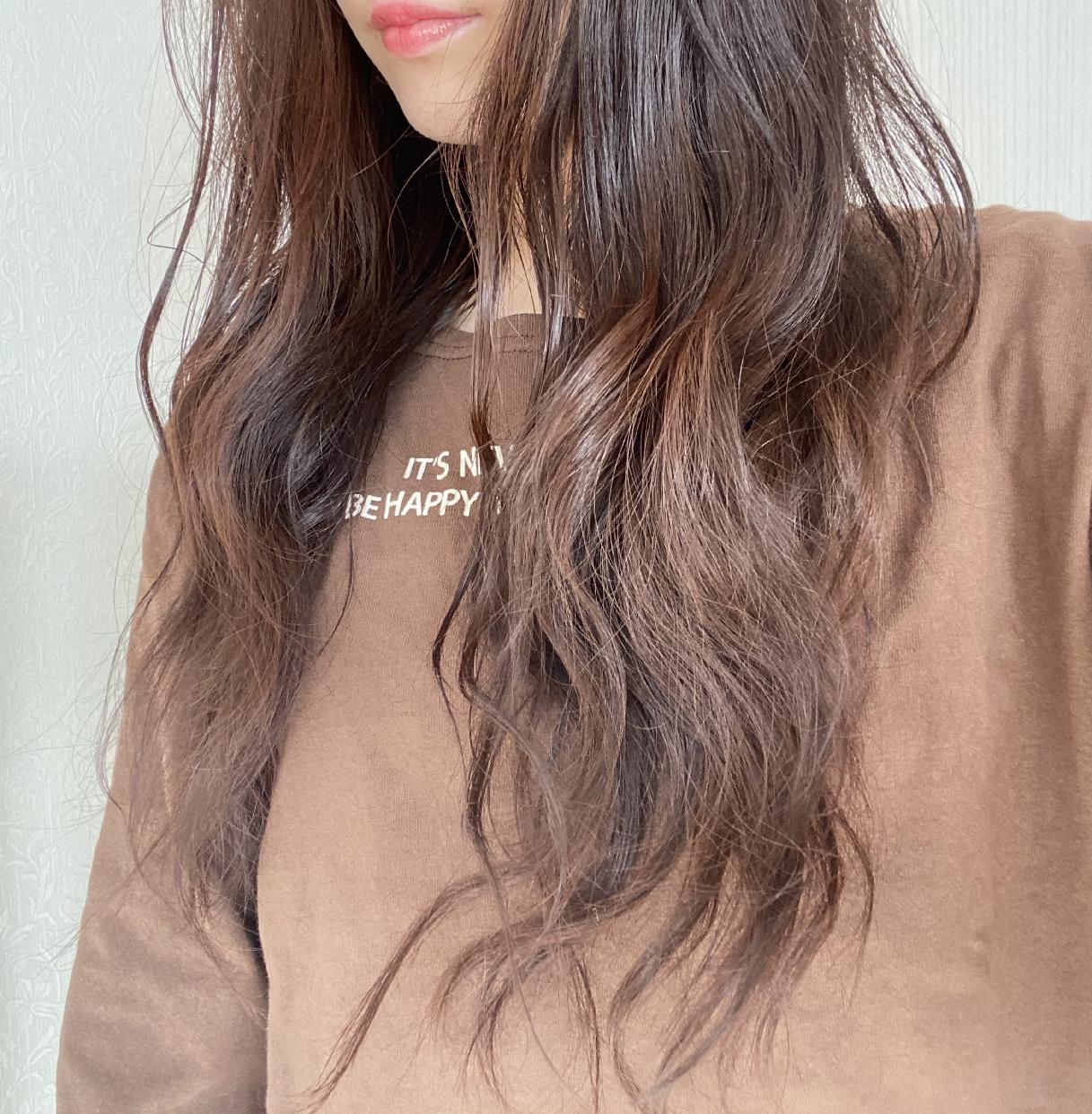 AIRY & EASY(エアリー&イージー)グロッシーヘアジェルを使った yu.さんの口コミ画像3