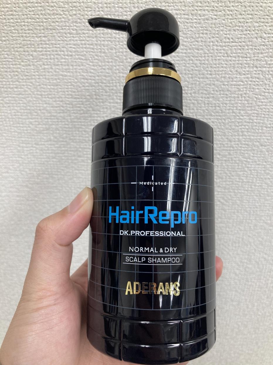 Hair Repro(ヘアリプロ)薬用スカルプ シャンプー (ノーマル&ドライ)を使ったMinato_nakamuraさんのクチコミ画像1