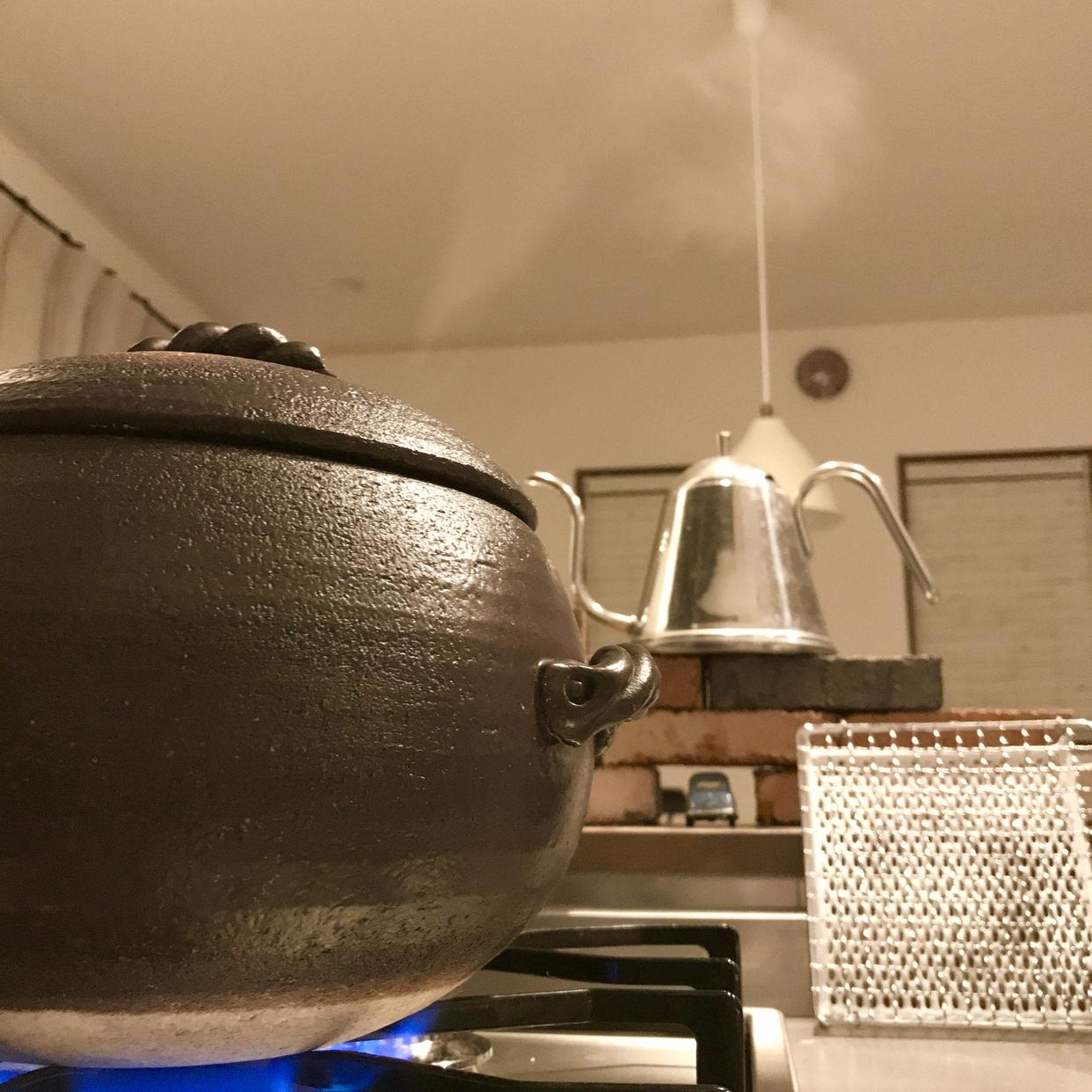 三鈴陶器(Misuzutouki) ごはん鍋を使ったYoOさんのクチコミ画像