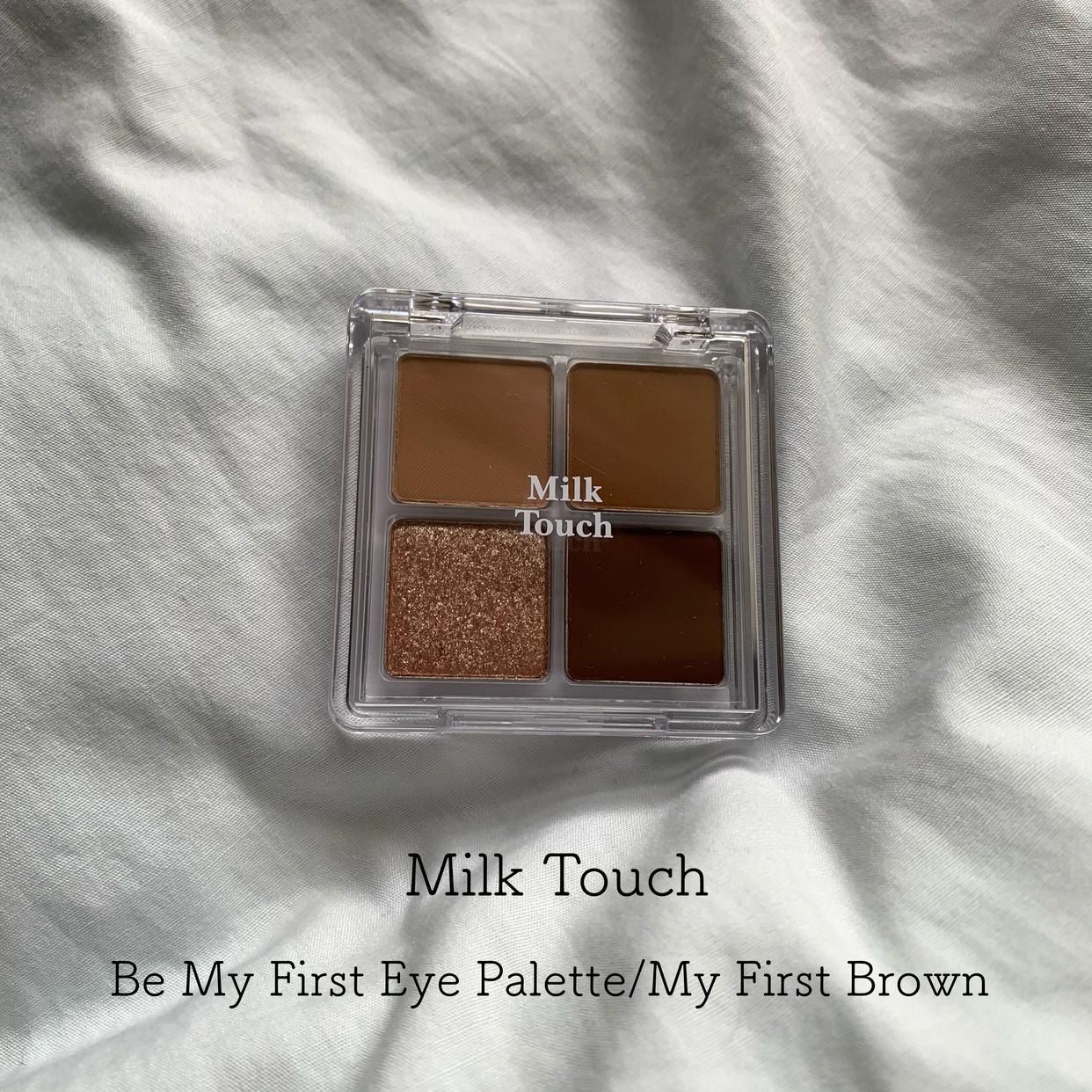 Milk Touch(ミルクタッチ) ビーマイファーストアイパレットを使ったとあさんのクチコミ画像1