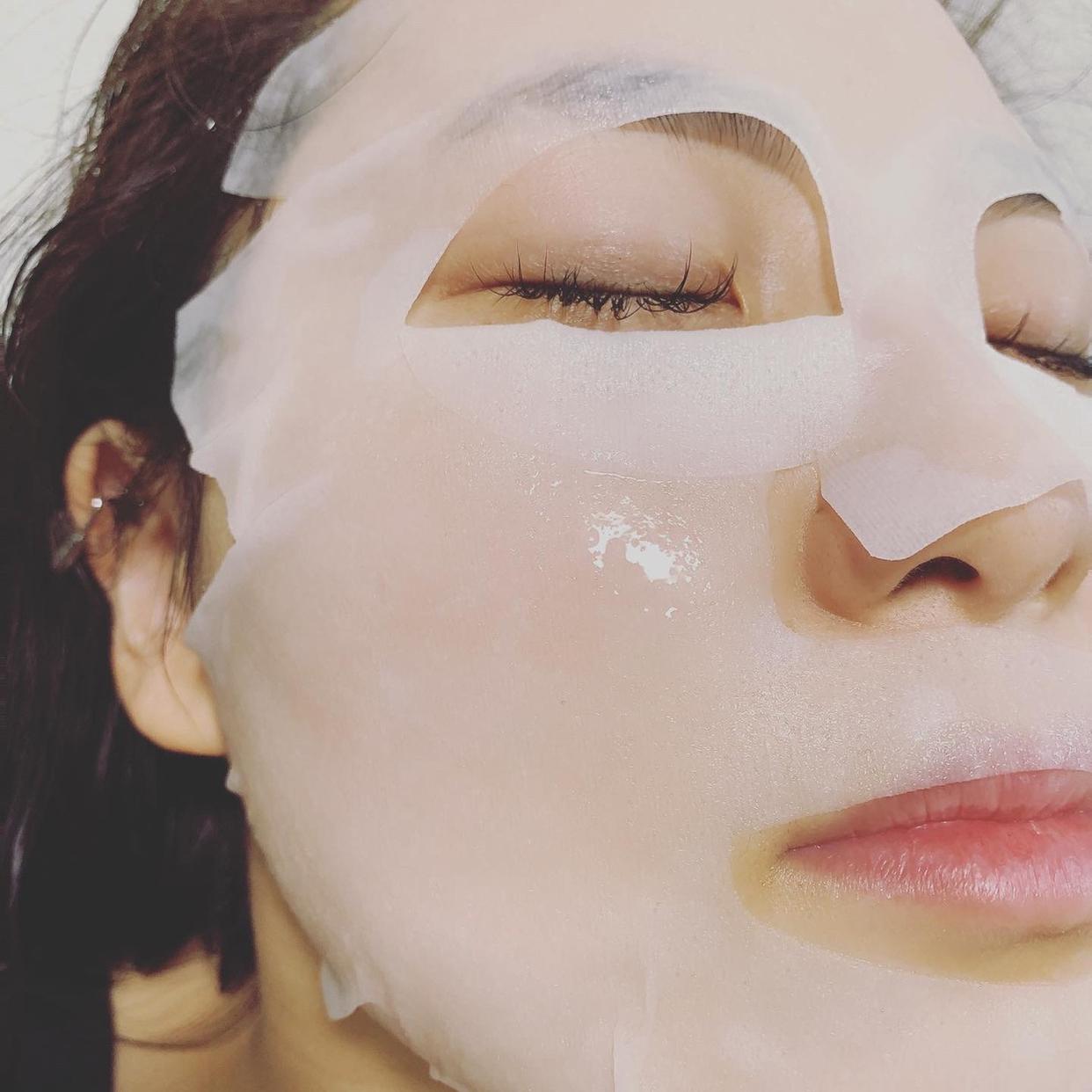REgLE(レグル) フェイシャルマスクを使ったkana_cafe_timeさんのクチコミ画像2