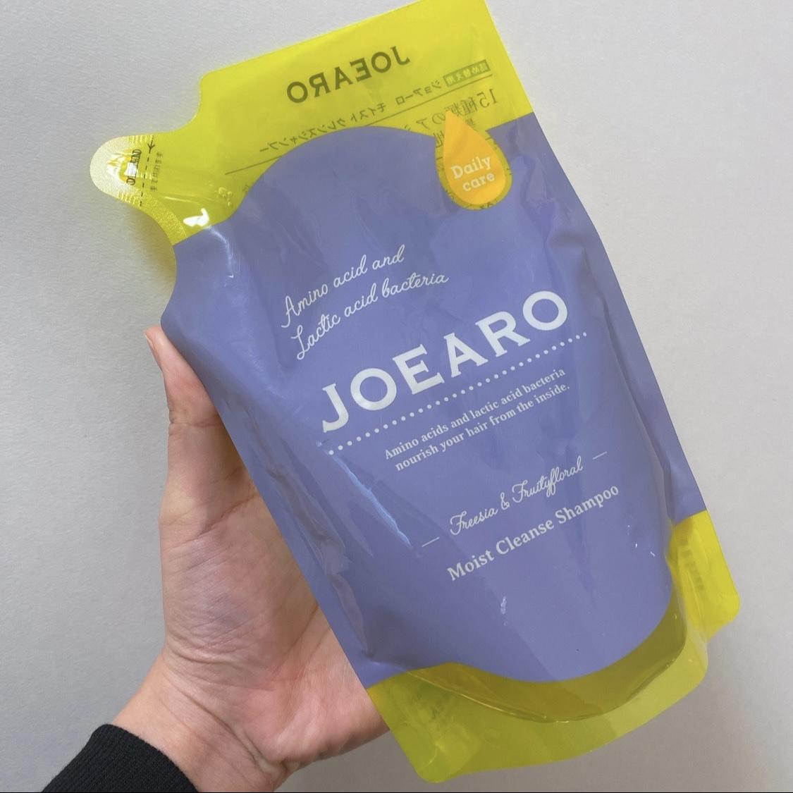 JOEARO(ジョアーロ) モイストクレンズシャンプーを使ったちーこすさんのクチコミ画像