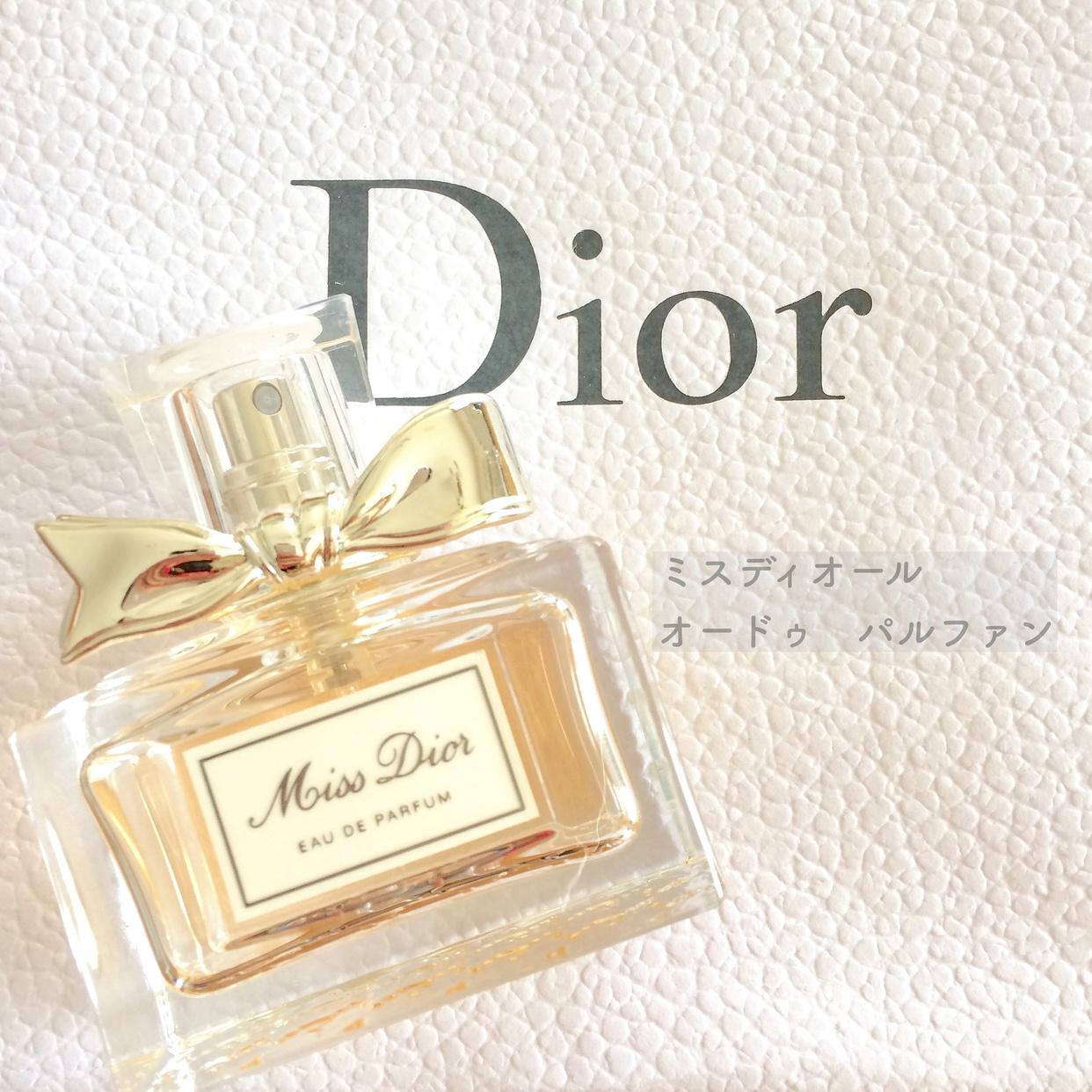Dior(ディオール) ミス ディオール オードゥ パルファンを使ったさくらもちさんのクチコミ画像1