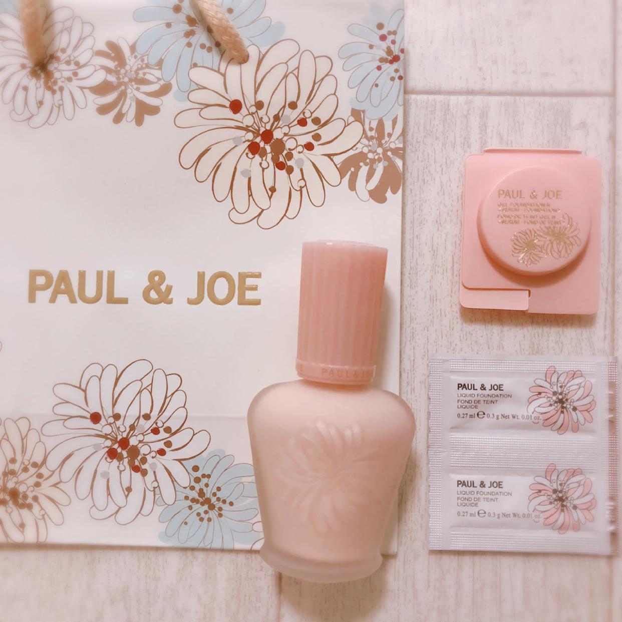 PAUL & JOE BEAUTE(ポールアンドジョー ボーテ) プロテクティング ファンデーション プライマーを使ったORIONさんのクチコミ画像2