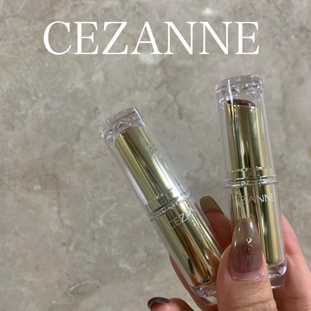 CEZANNE(セザンヌ) ラスティンググロスリップを使ったKARINさんのクチコミ画像