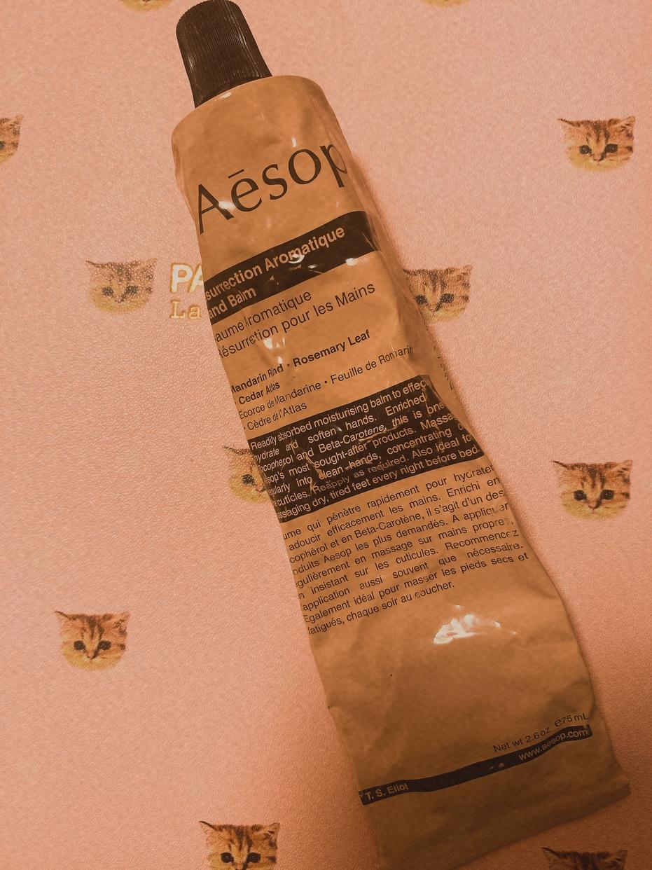 Aesop(イソップ) レスレクション ハンドバームを使ったmiomioさんのクチコミ画像