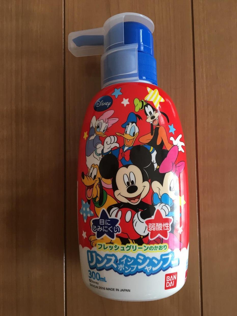 BANDAI(バンダイ)リンスインポンプシャンプー ミッキーを使った伊藤 景子さんのクチコミ画像1