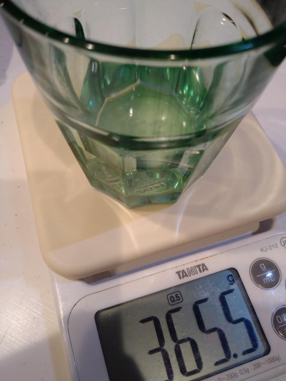 TANITA(タニタ)デジタルクッキングスケール KJ-212を使ったキドリ子さんのクチコミ画像1