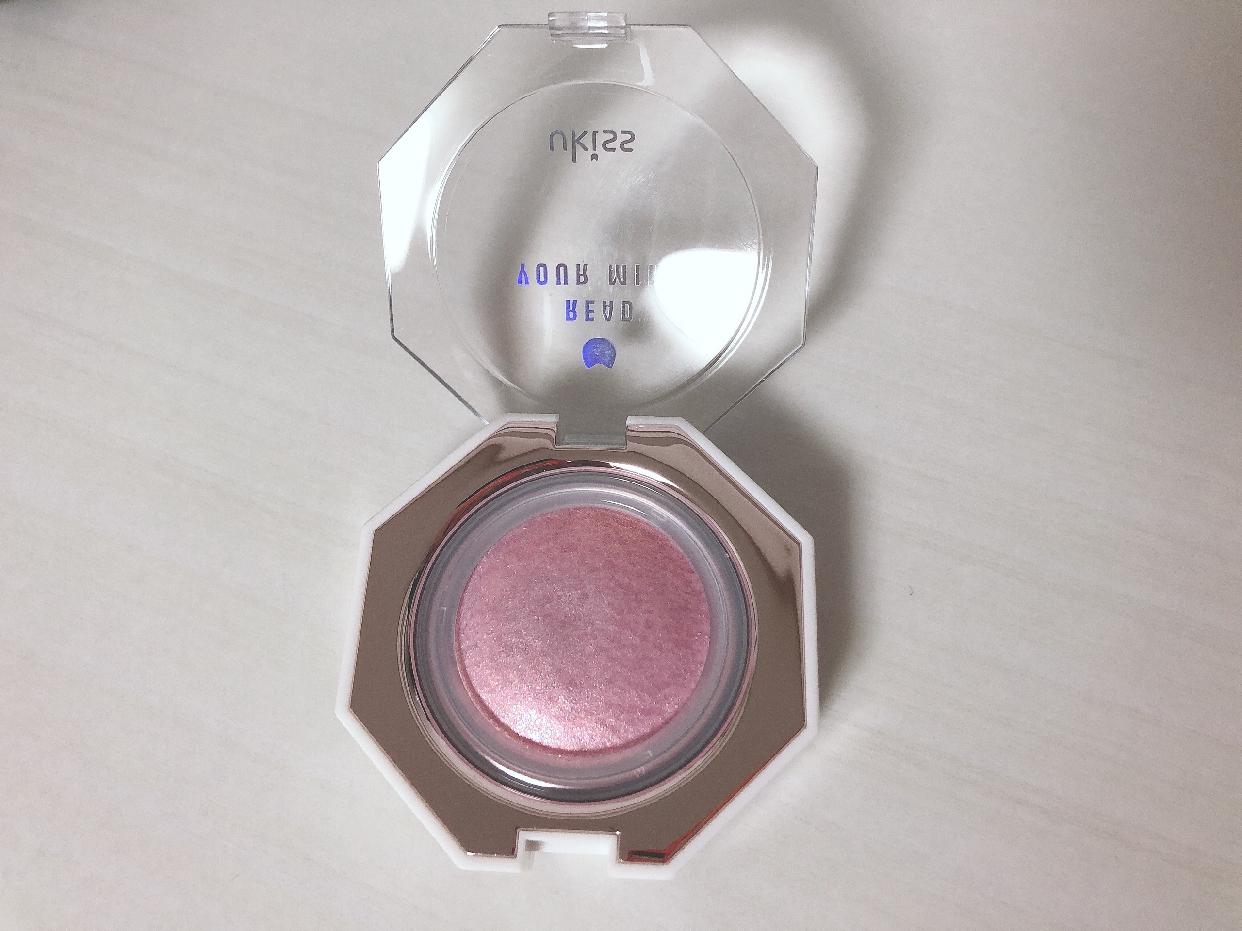 ukiss(ユーキス) ダイヤモンドハイライトを使った桜羽さんのクチコミ画像2