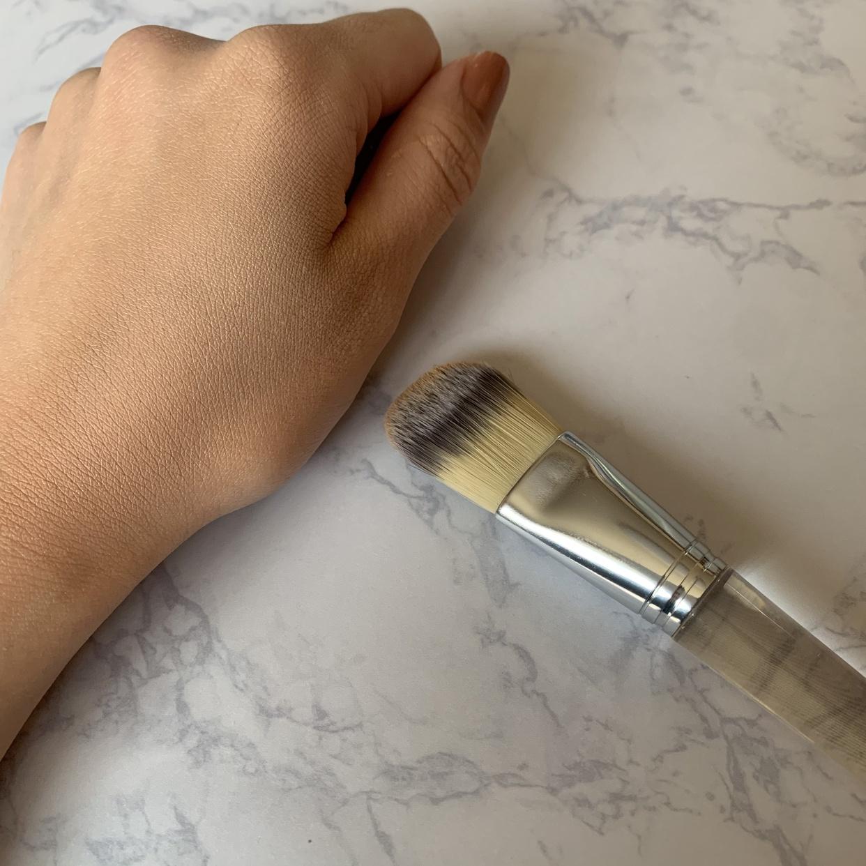 CLINIQUE(クリニーク)ファンデーション ブラシを使ったPASOさんのクチコミ画像1