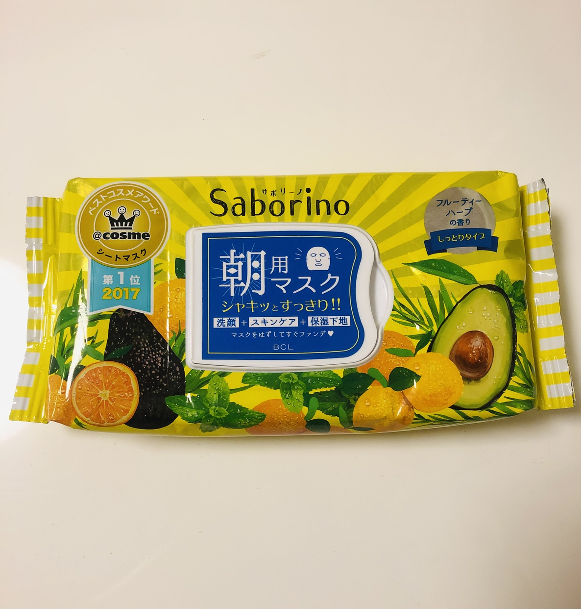 Saborino(サボリーノ) 目ざまシートを使ったサトウウサコさんのクチコミ画像1