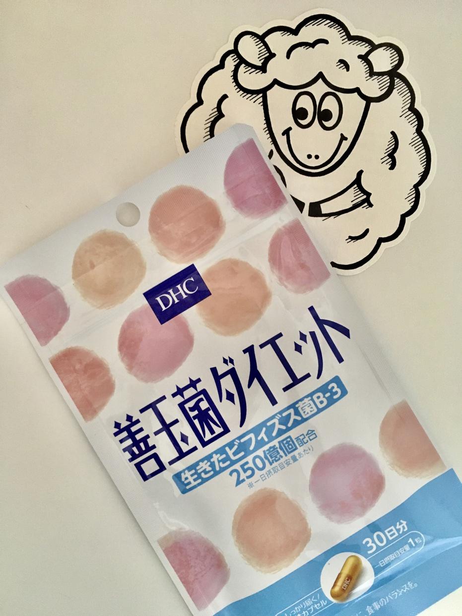 DHC(ディーエイチシー) 善玉菌ダイエットを使ったモンタさんのクチコミ画像1