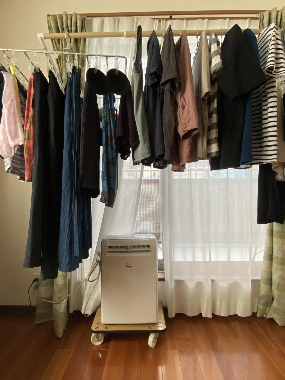 三菱電機(MITSUBISHI ELECTRIC)衣類乾燥除湿機サラリ MJ-M100RXを使った家事・家具・家電大好き(スイーツも大好き)さんのクチコミ画像2