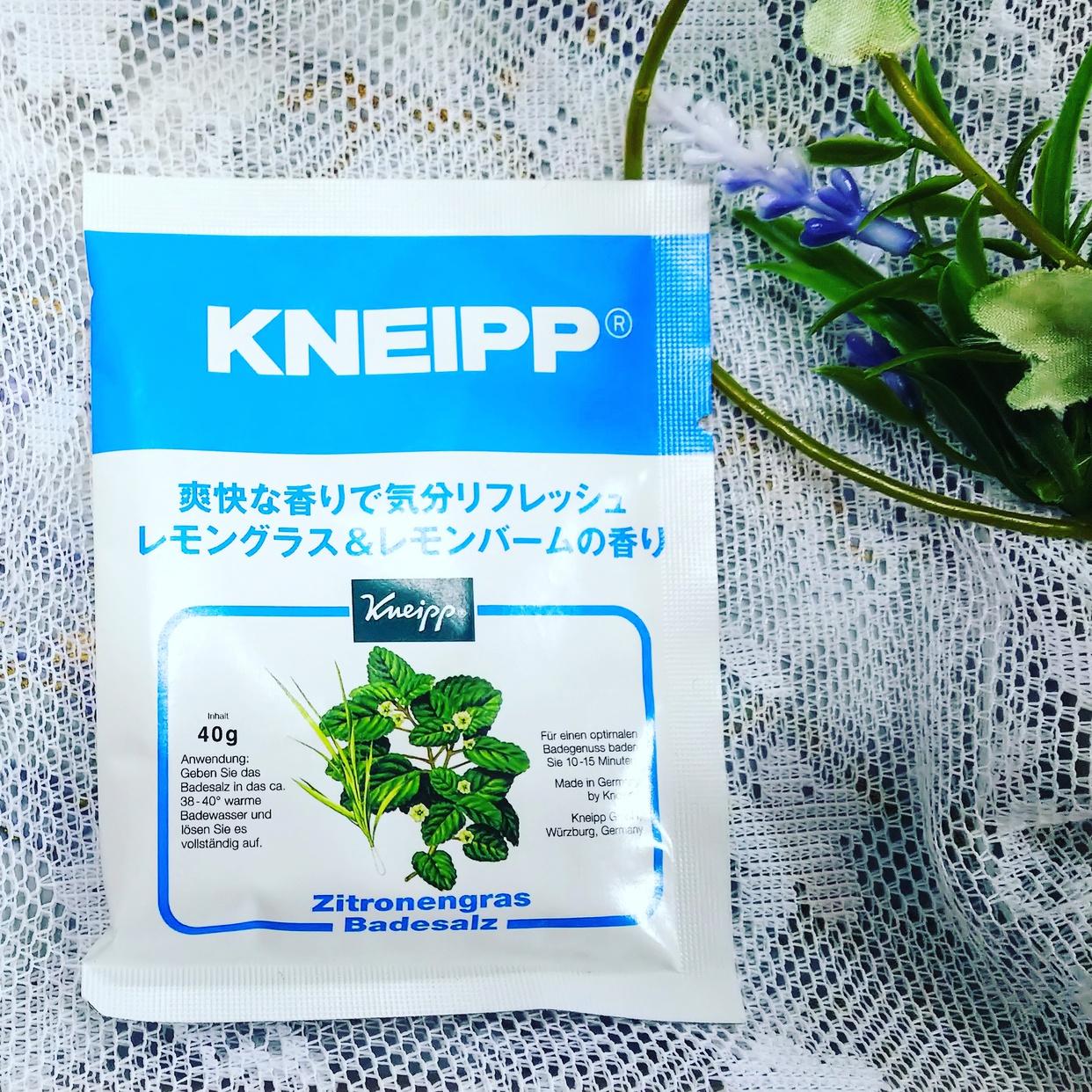 Kneipp(クナイプ)バスソルトを使ったティンカーベル0908さんのクチコミ画像1