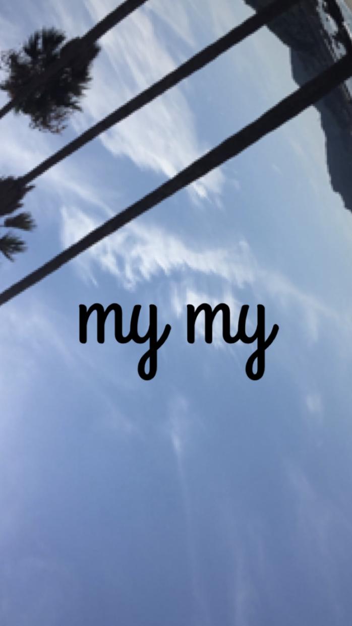 | 【my my】